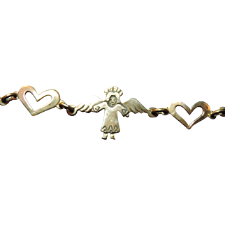 Jeep Collins Angels & Hearts Bracelet