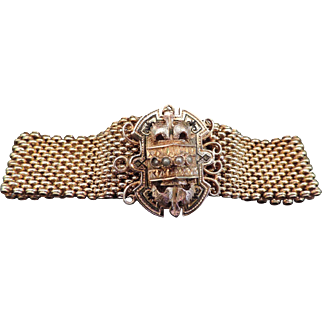 Victorian Mesh Bracelet 14K