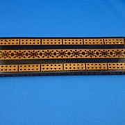 Old Tunbridge Ware Cribbage Board