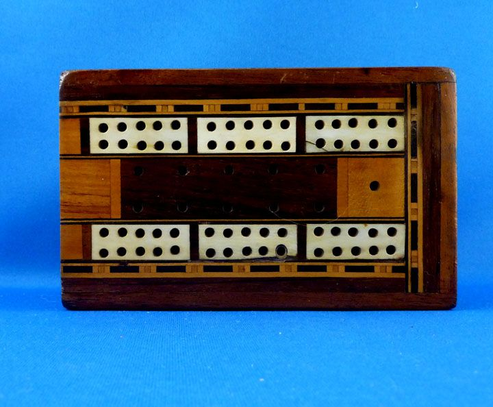 Folding Box Cribbage Board
