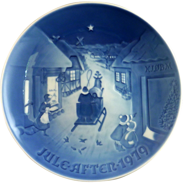 2 Bing & Grondahl Christmas Plates 1978 and 1979