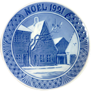 1921 Royal Copenhagen Christmas Plate – Noel