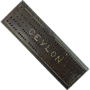 Carved Cribbage Board – CEYLON