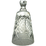 1991 Waterford Crystal Christmas Bell