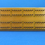 Rare De La Rue Hedgehog Cribbage Board