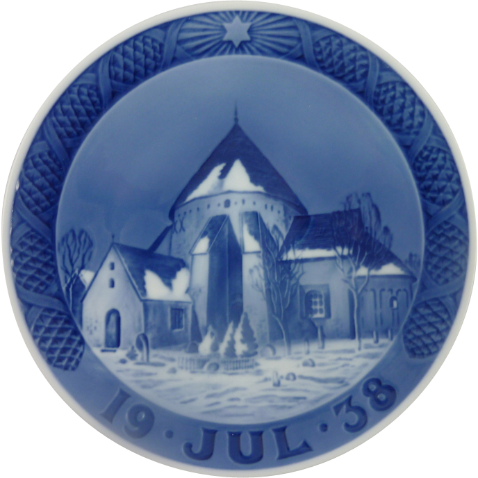 1938 Royal Copenhagen Christmas Plate
