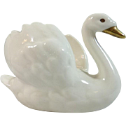 Small Goebel Porcelain Swan – W. Germany