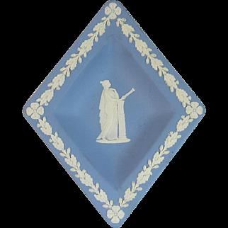 Wedgewood Blue Jasperware Trinket Dish