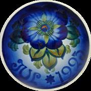 1923 Aluminia Faience Christmas Plate – Royal Copenhagen