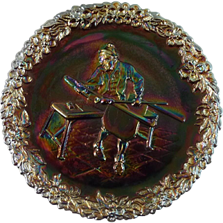 Fenton Art Glass Plate