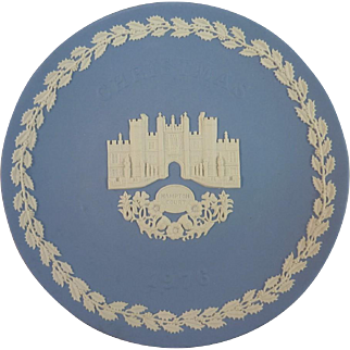 1976 Wedgwood Christmas Plate – Hampton Court