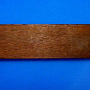 Hand Crafted Wood Cribbage Board with Bakelite