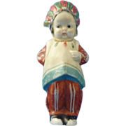 Old Bisque Native American Doll – Made in Japan - Red Tag Sale Item