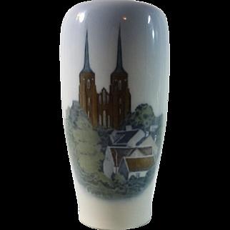 Lovely Royal Copenhagen Porcelain Vase