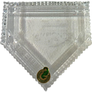 Waterford Crystal 2009 New York Yankees World Series Home Plate