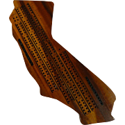 State of California Cribbage Board