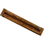 Saves Arguments Cribbage Board
