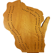 Cribbage Board – Wisconsin