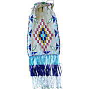 Western Apache Beaded Bag