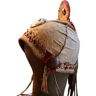 Rare Western Apache War Hat 1880's