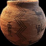 1890's Western Apache Large Olla Basket