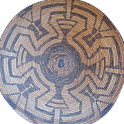 "Large Turn of The Century Pima 17"" Basket"