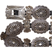 1930's Second Phase Concho Belt