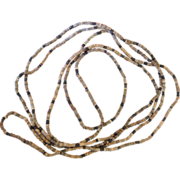 Hohokam Necklace 800 AD Turquoise, Shell, Jet and Stone