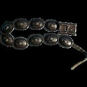 1920's Concho Belt