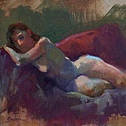 Figurative Painting By LPAPA Signature Member Cynthia Britain