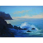 Seascape Painting By LPAPA Signature Member Cynthia Britain
