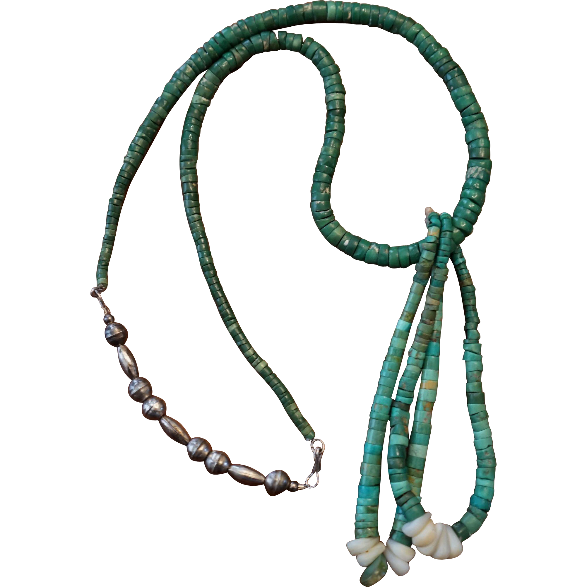 Vintage Turquoise Necklace 103