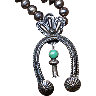 Vintage Naja Pendant With Bench Made Beads