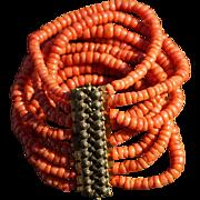 Georgian Coral Bracelet