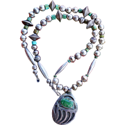 Vintage Bear Claw Pendant Necklace