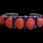 Vintage Coral Bracelet