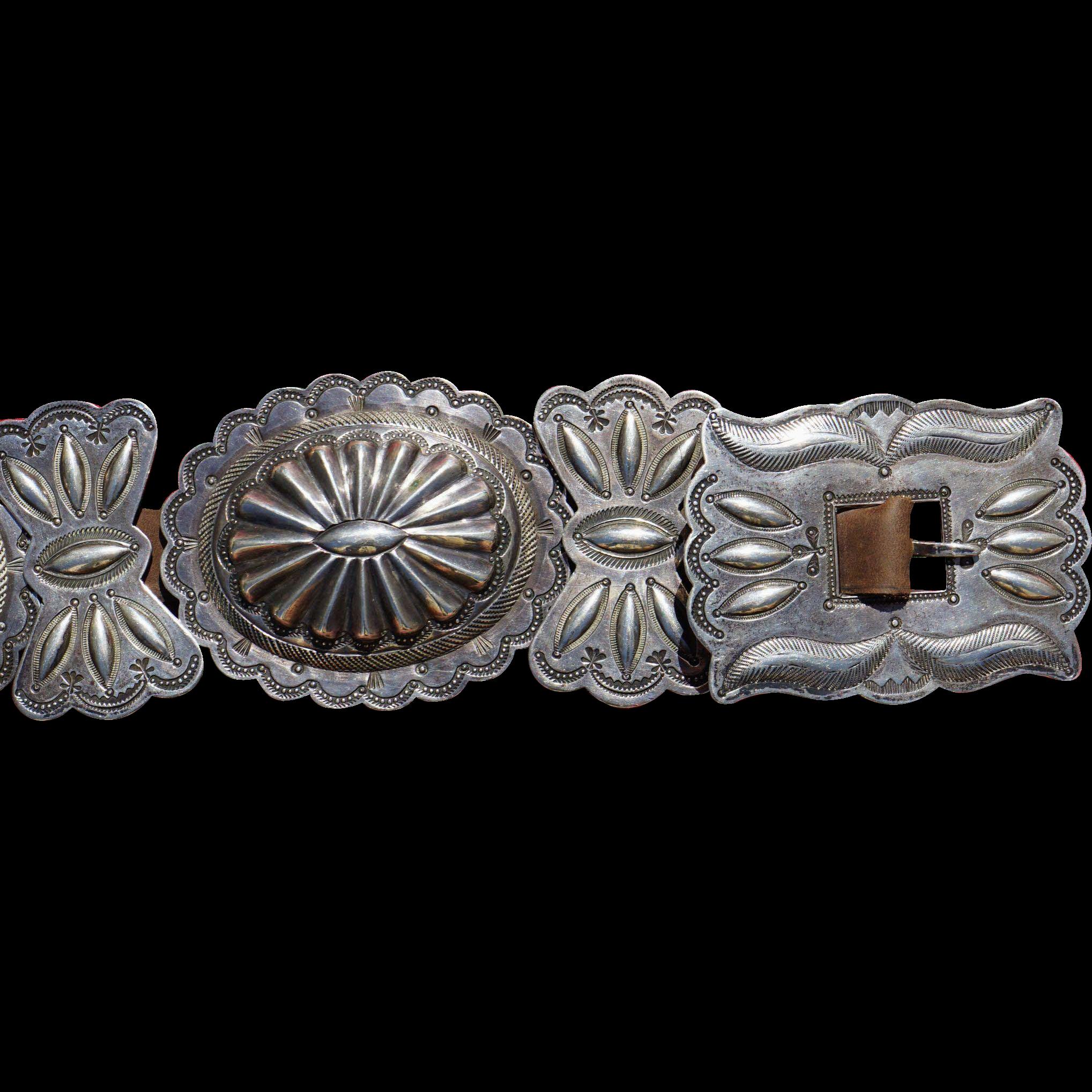 1930's Concho Belt