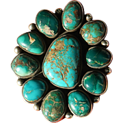 Vintage Turquoise Pin/Pendant