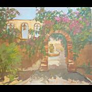 San Juan Capistrano Mission Painting