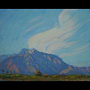 Anza Borrego Desert Landscape Painting By Plein Air Artist Saim Caglayan
