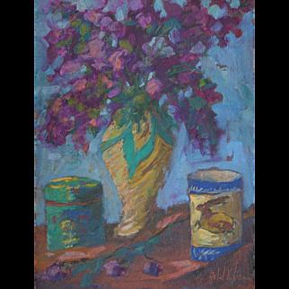 Floral Painting by Rachel Uchizono