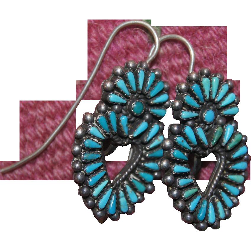 Zuni Heart Earrings