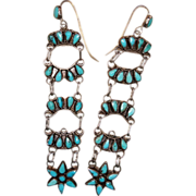 Zuni Tiered Drop Earrings