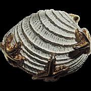 Boucher 1959 Shell & Starfish Brooch
