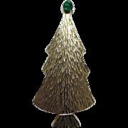 Ultracraft Large Slender Christmas Tree Pin, RARE