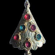 BJ Signed (Beatrix) Mid-Century Ornaments Christmas  Tree Pin ~ Book Piece