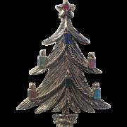 BJ (Beatrix) Candle Garland Christmas Tree Pin ~ Book Piece