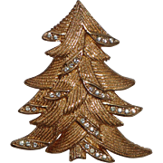SCARCE Christian Dior Christmas Tree Pin, Book Piece