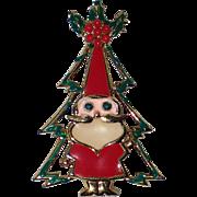 Beatrix Santa Claus Christmas Tree Pin, Book Piece