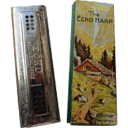 Hohner 56 96 Echo Harp Tremolo Harmonica (Key of C,G)